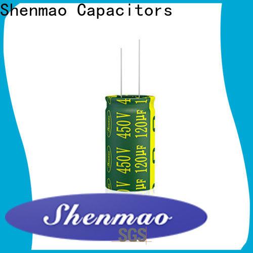 Shenmao radial type capacitor marketing for energy storage