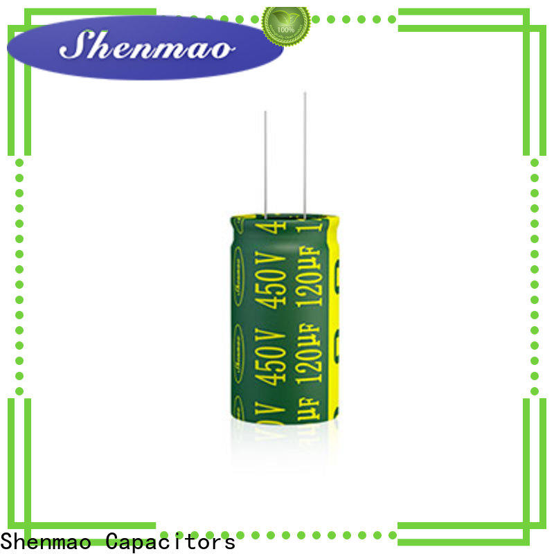 Shenmao easy to use high quality electrolytic capacitors vendor for coupling