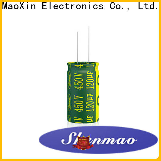aluminum capacitor supplier for rectification