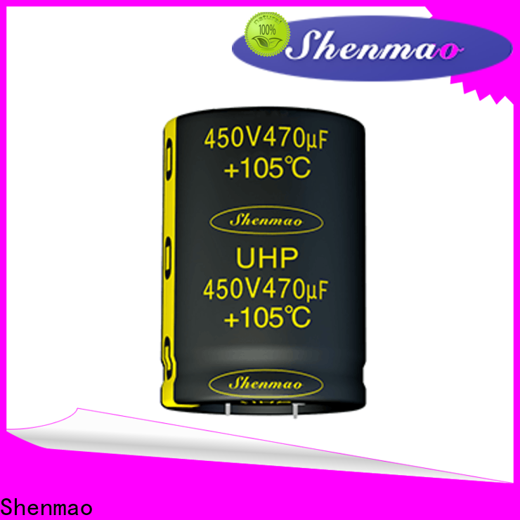 Shenmao durable 450 volt electrolytic capacitors supplier for tuning