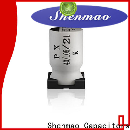 Shenmao energy-saving smd capacitor 100uf oem service for coupling