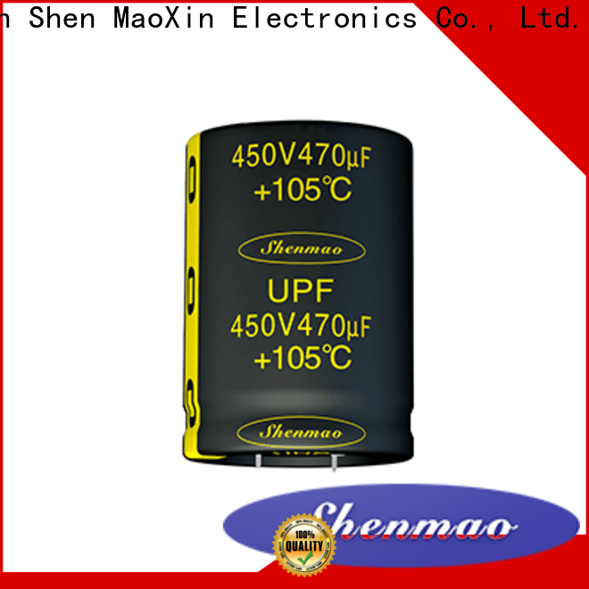 Shenmao high quality snap in capacitor vendor for tuning