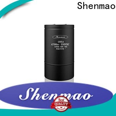 Shenmao stable polymer electrolytic capacitor oem service for rectification