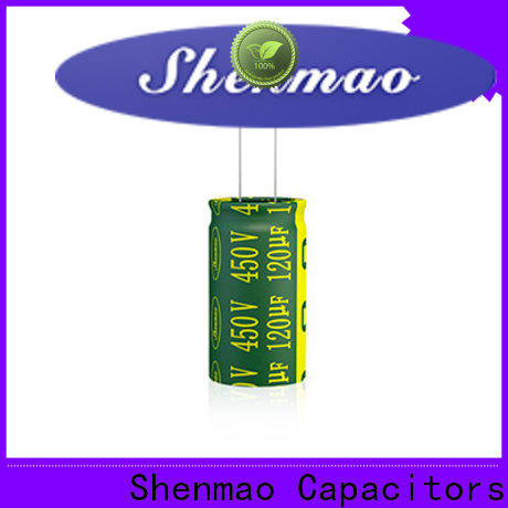 Shenmao high quality high quality electrolytic capacitors overseas market for DC blocking