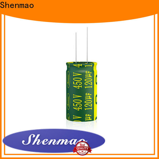 Shenmao high quality Radial Aluminum Electrolytic Capacitor owner for rectification
