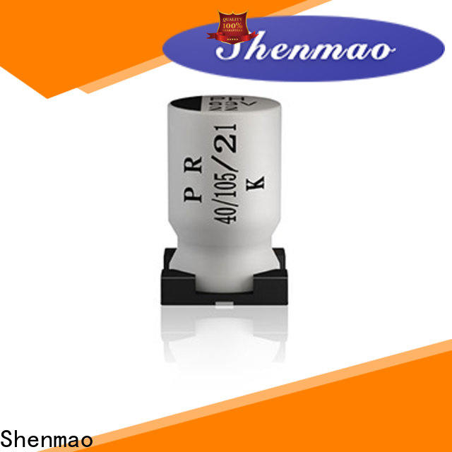 competitive price smd aluminum electrolytic capacitor owner for temperature compensation