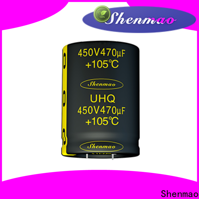 Shenmao good to use panasonic electrolytic capacitors supplier for tuning