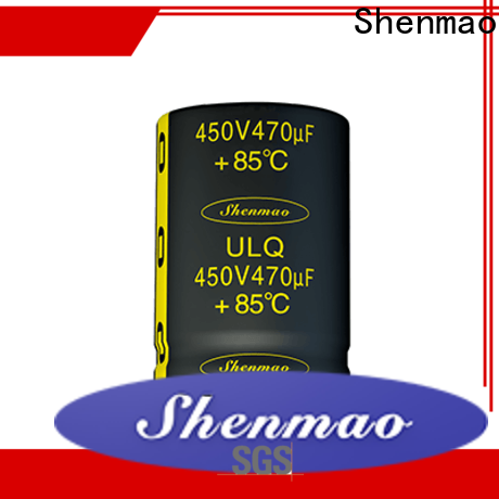 Shenmao fine quality electrolytic capacitor price marketing for timing