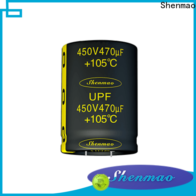 Shenmao easy to use best electrolytic capacitors owner for filter