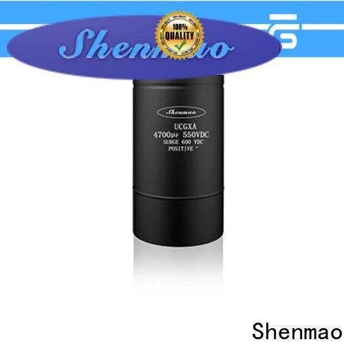 Shenmao panasonic aluminum electrolytic capacitors overseas market for filter