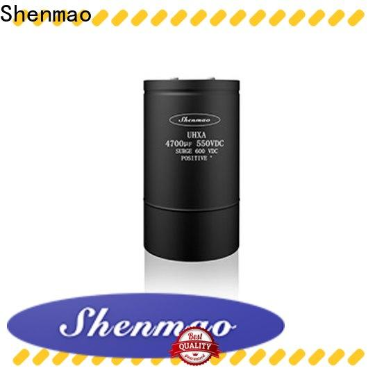 Shenmao stable polymer aluminum electrolytic capacitors overseas market for energy storage