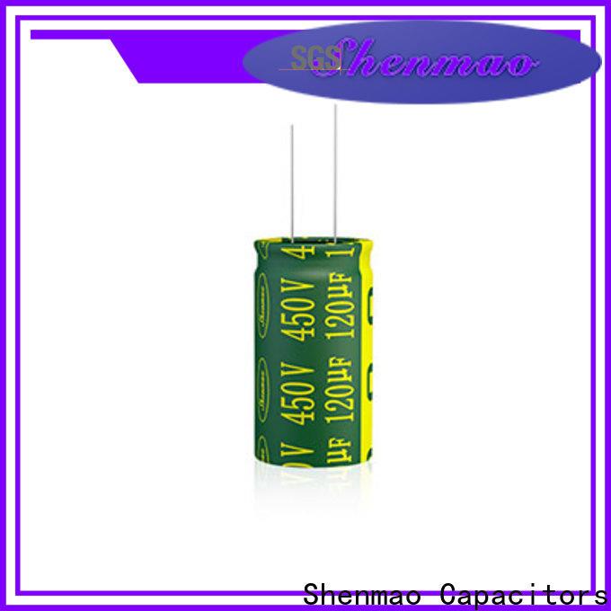 Shenmao electrolytic capacitor function overseas market for energy storage