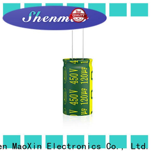 Shenmao electrolytic capacitor polarity overseas market for energy storage