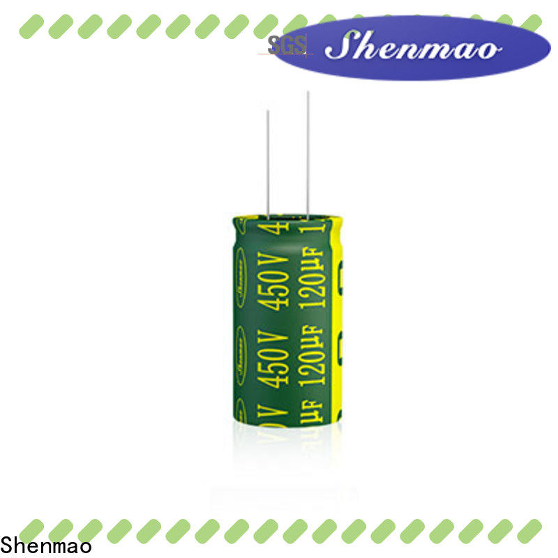 Shenmao 1000uf 450v radial electrolytic capacitors overseas market for timing