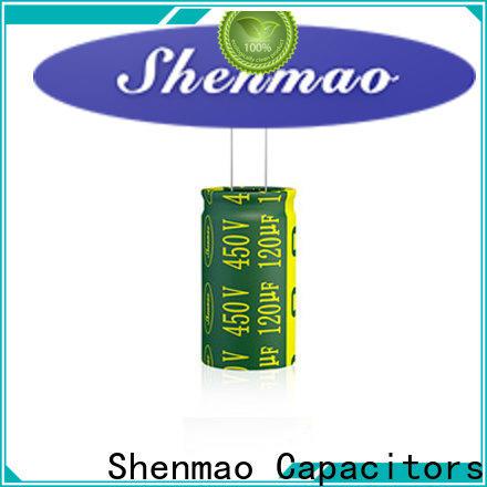 Shenmao 1000uf 450v radial electrolytic capacitors owner for energy storage