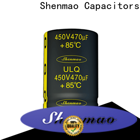Shenmao easy to use snap in capacitor mount owner for timing