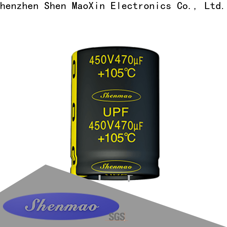 Shenmao what is a snap in capacitor overseas market for temperature compensation
