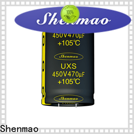 Shenmao snap in capacitor socket marketing for rectification