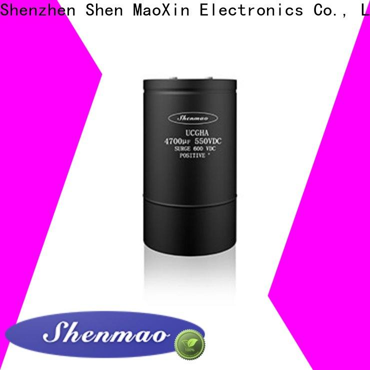 Shenmao screw terminal capacitors marketing for rectification