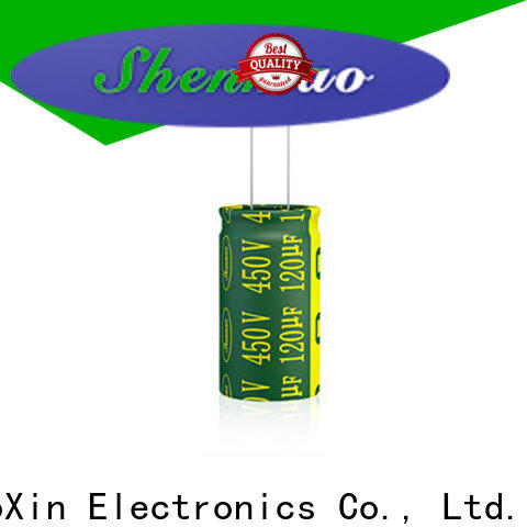 Shenmao electrolytic capacitor function bulk production for timing