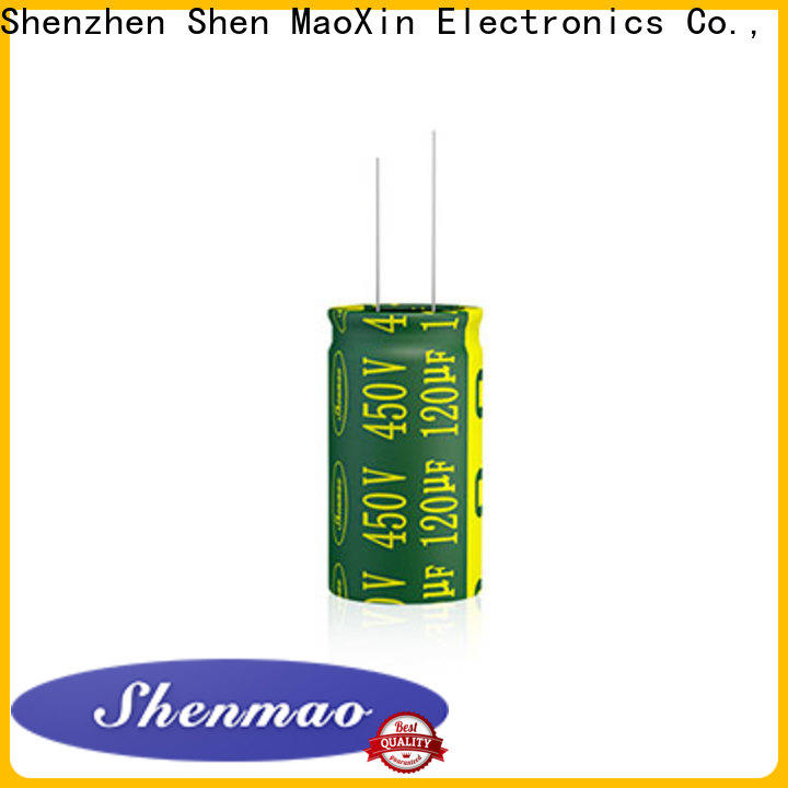 Shenmao high quality radial electrolytic owner for temperature compensation