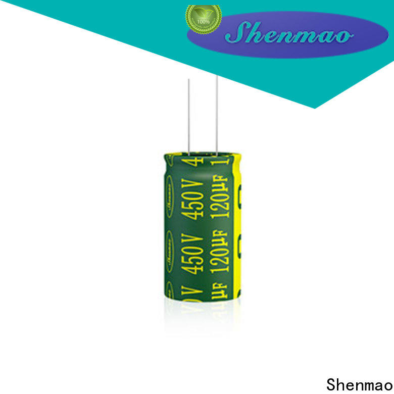 Shenmao good to use radial can capacitor overseas market for filter