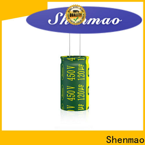 Shenmao stable radial capacitor supplier for rectification