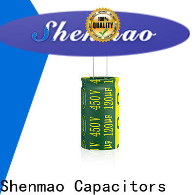 Shenmao best electrolytic capacitor manufacturers marketing for coupling