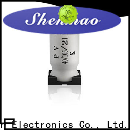 Shenmao 47uf smd capacitor bulk production for filter
