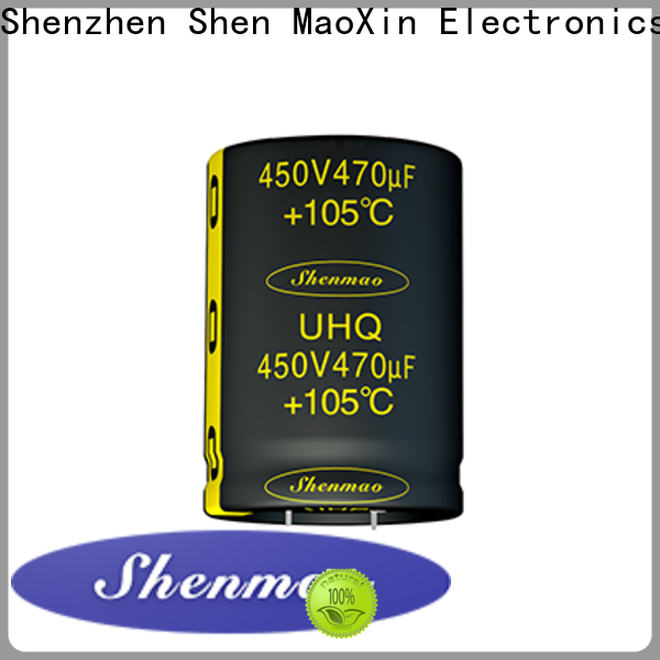 Shenmao high quality 1uf electrolytic capacitor vendor for timing