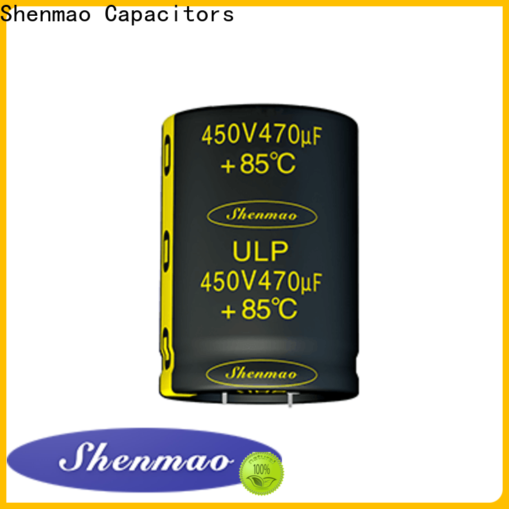 Shenmao snap in capacitor socket bulk production for tuning