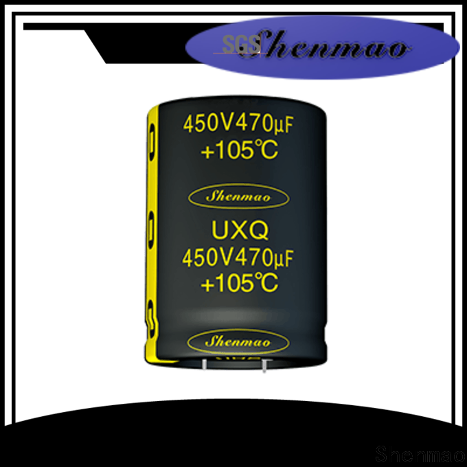 Shenmao durable snap in capacitor socket marketing for timing
