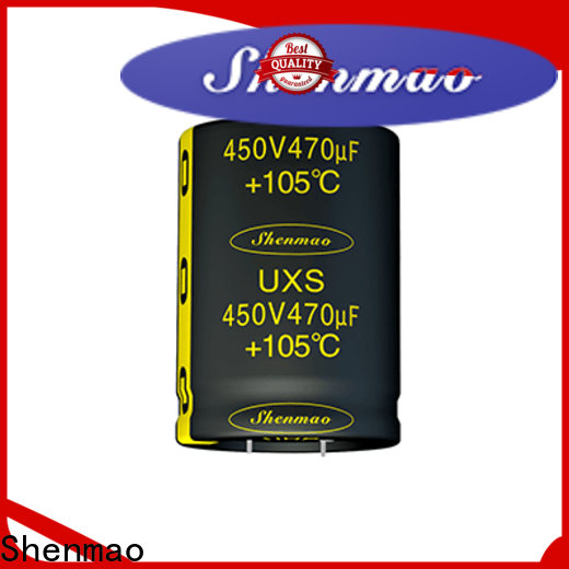 Shenmao easy to use high voltage electrolytic capacitors owner for filter