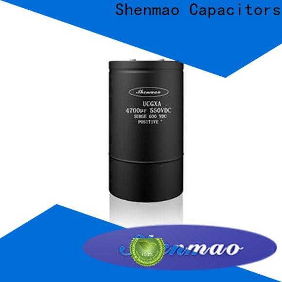 Shenmao competitive price panasonic aluminum electrolytic capacitors marketing for energy storage