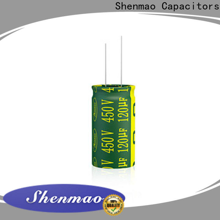 Shenmao durable radial capacitor marketing for filter