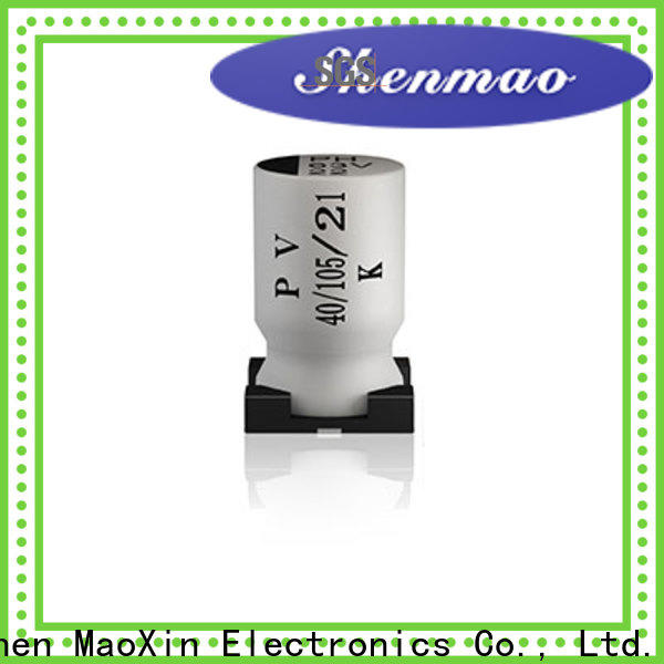 Shenmao competitive price smd aluminum electrolytic capacitor overseas market for temperature compensation