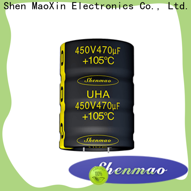 Shenmao what is a snap in capacitor marketing for temperature compensation