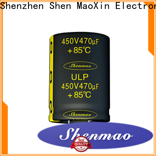 Shenmao durable 1uf electrolytic capacitor vendor for coupling