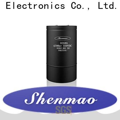 Shenmao advanced technology Screw Terminal Aluminum Electrolytic Capacitors owner for coupling