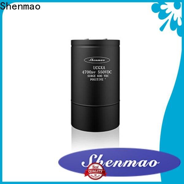 Shenmao screw terminal capacitor supplier for energy storage