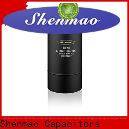 Shenmao stable screw terminal capacitors overseas market for temperature compensation