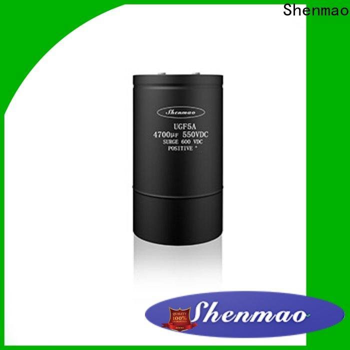 Shenmao panasonic aluminum electrolytic capacitors bulk production for energy storage