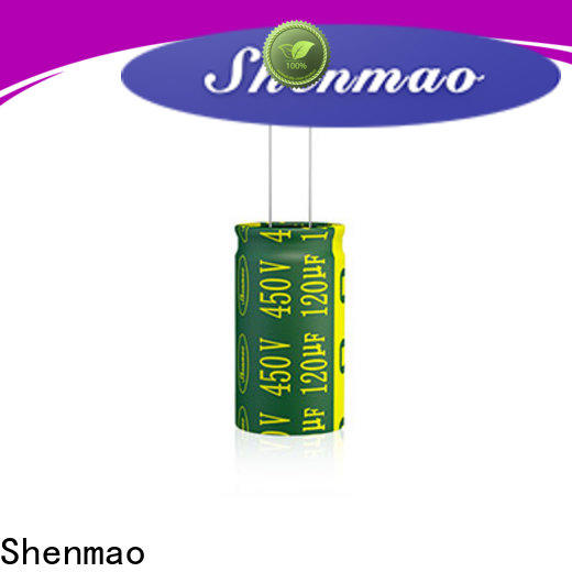Shenmao types of electrolytic capacitor overseas market for filter