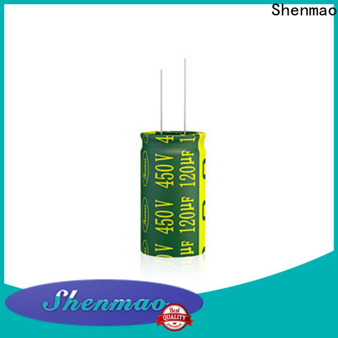 Shenmao aluminum electrolytic capacitor supplier for timing