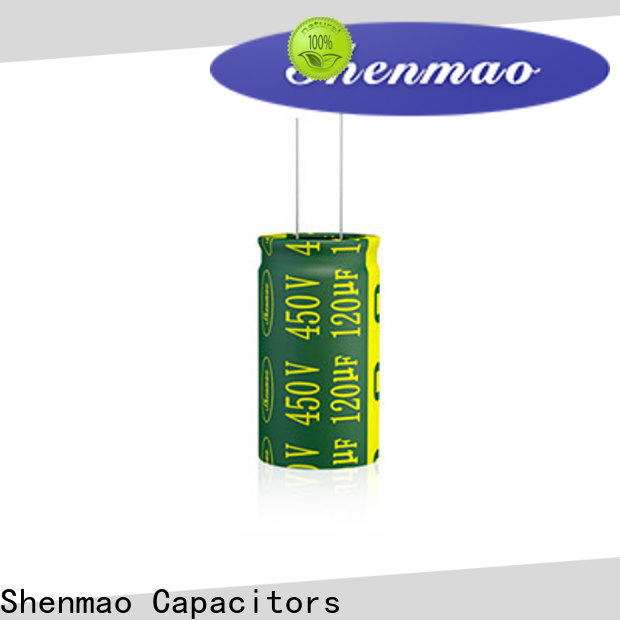 Shenmao radial can capacitor marketing for temperature compensation