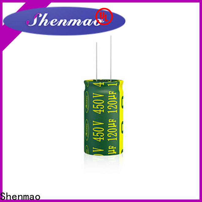 Shenmao electrolytic capacitor polarity owner for rectification