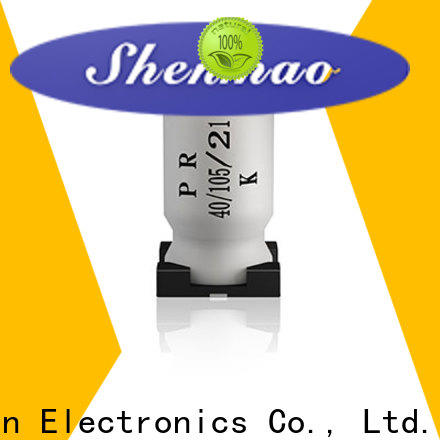 Shenmao capacitor 10uf smd vendor for rectification