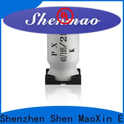 Shenmao smd electrolytic capacitor oem service for energy storage