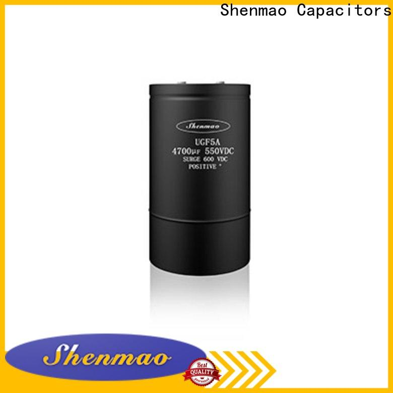 Shenmao professional aluminum capacitor manufacturers supplier for energy storage