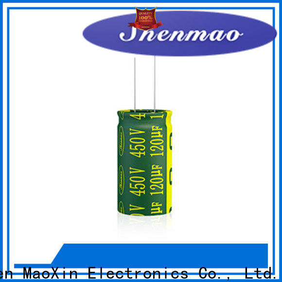 Shenmao stable 600 volt electrolytic capacitor overseas market for temperature compensation